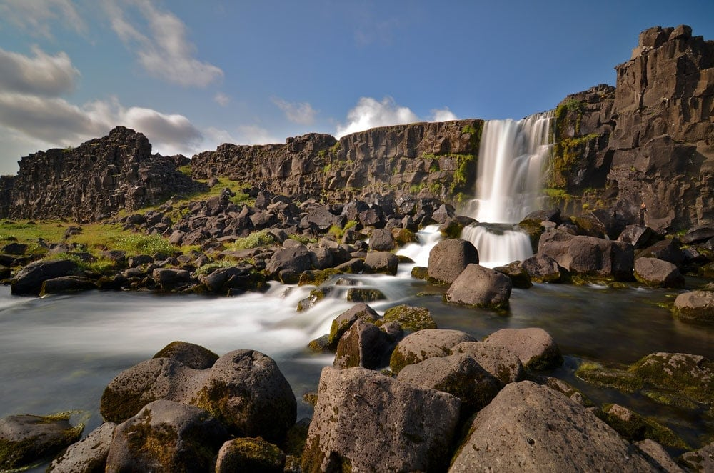 Exploring the Golden Circle Route & South Iceland Waterfalls