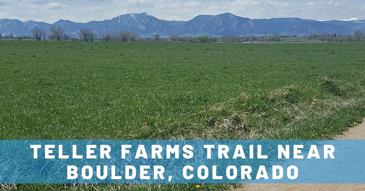 Teller Farms Trail Near Boulder: Weekday Escape