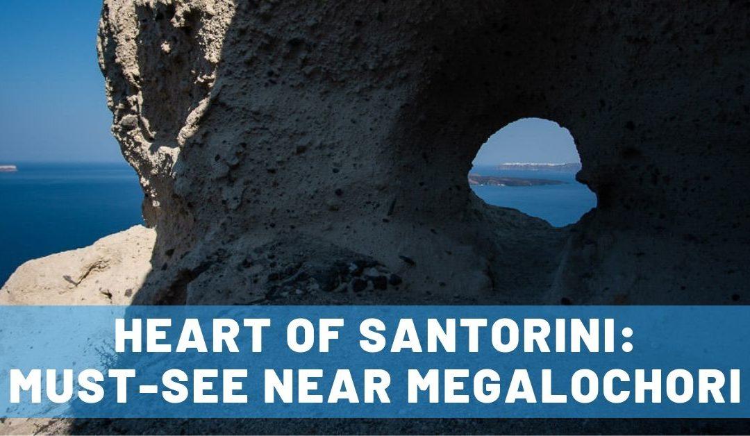 Stumbling Upon the 'Heart of Santorini' Near Megalochori, Greece