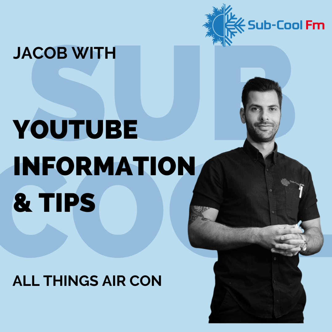 Link to The Outspoken Engineer SubCoolFM Youtube channel with information and tips on all things air con