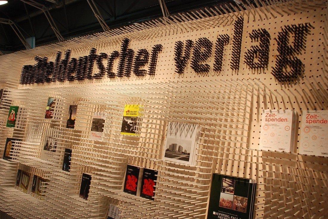 Messestand MDV, copyright Johannes Albert, Helmut Stabe