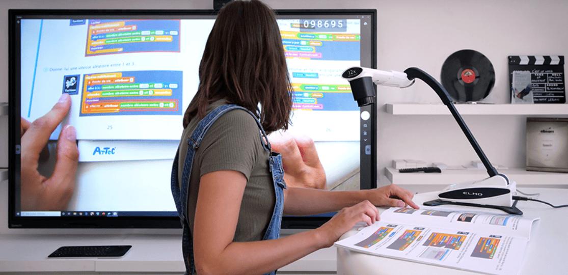 visualiseur compatible écran interactif