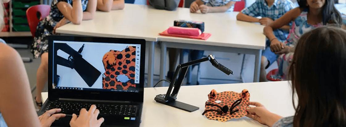 visualiseur de documents à l'école