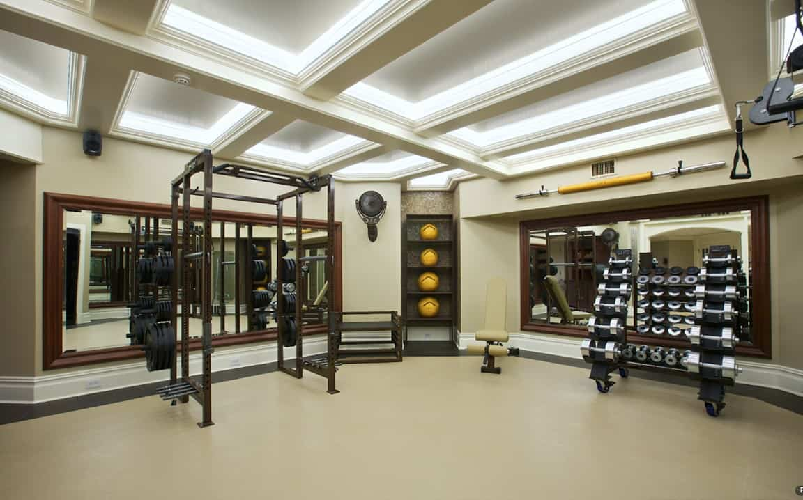 Olympic home gym