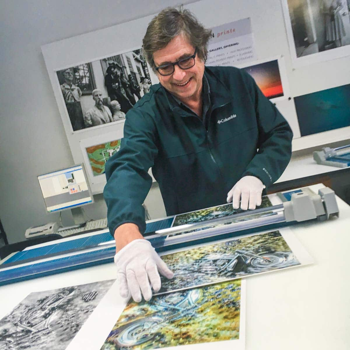 Dickerman Prints have printers that use the AdobeRGB 1998 colorspace.