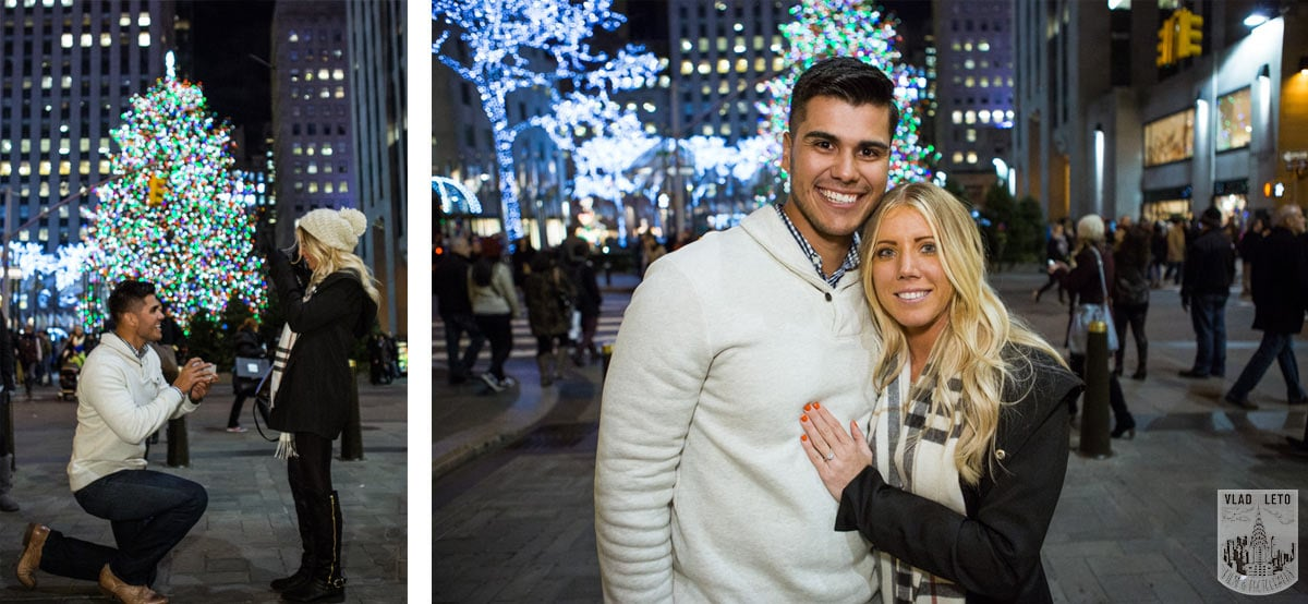 Photo Best Holiday Proposal Ideas in NYC | VladLeto