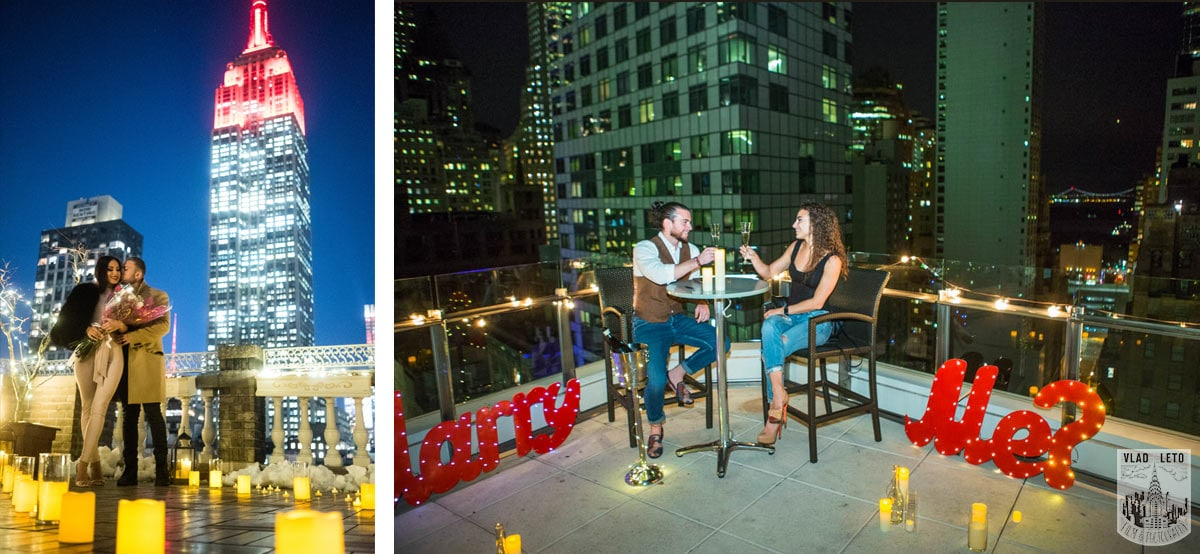 Photo 4 Best Holiday Proposal Ideas in NYC | VladLeto
