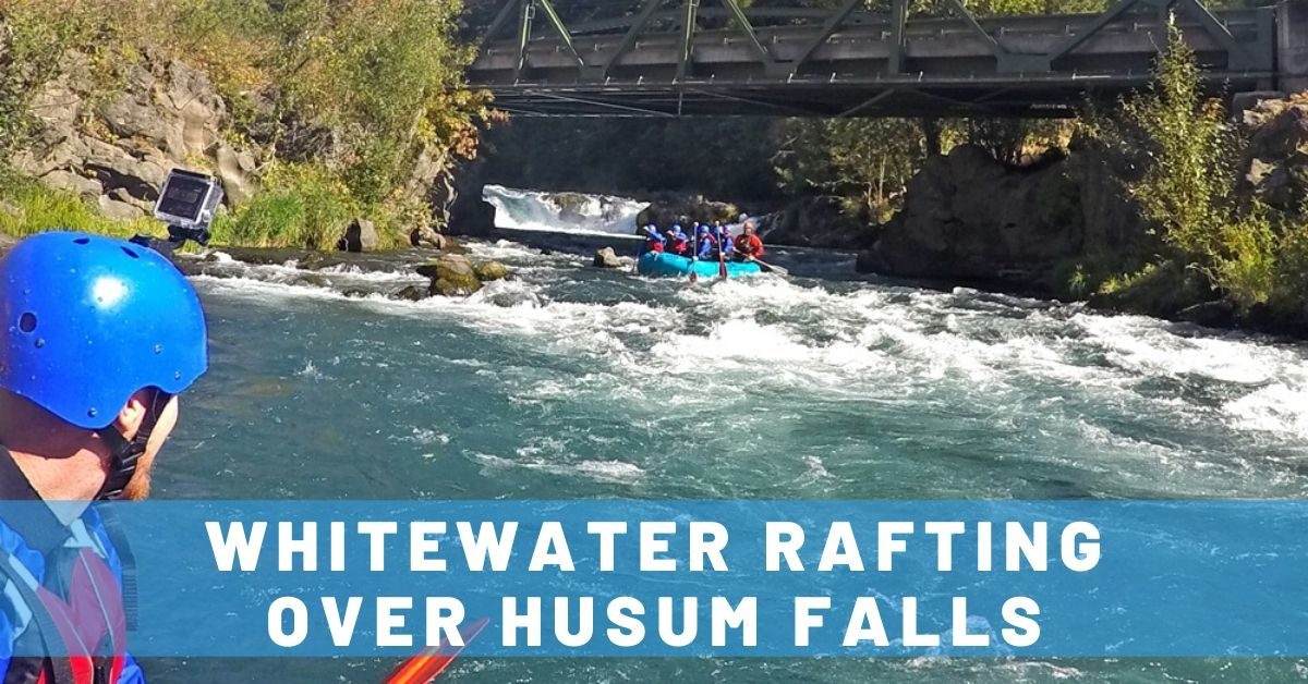 Whitewater Rafting Over Husum Falls