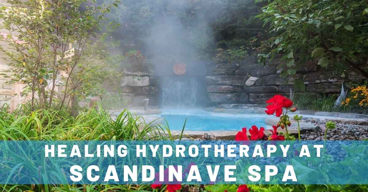 Healing Hydrotherapy at Scandinave Spa in Mont-Tremblant