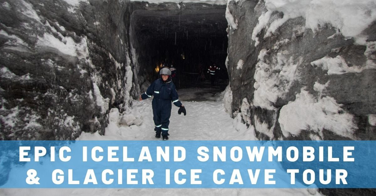 Iceland Snowmobile & Glacier Ice Cave Tour with Mountaineers of Iceland