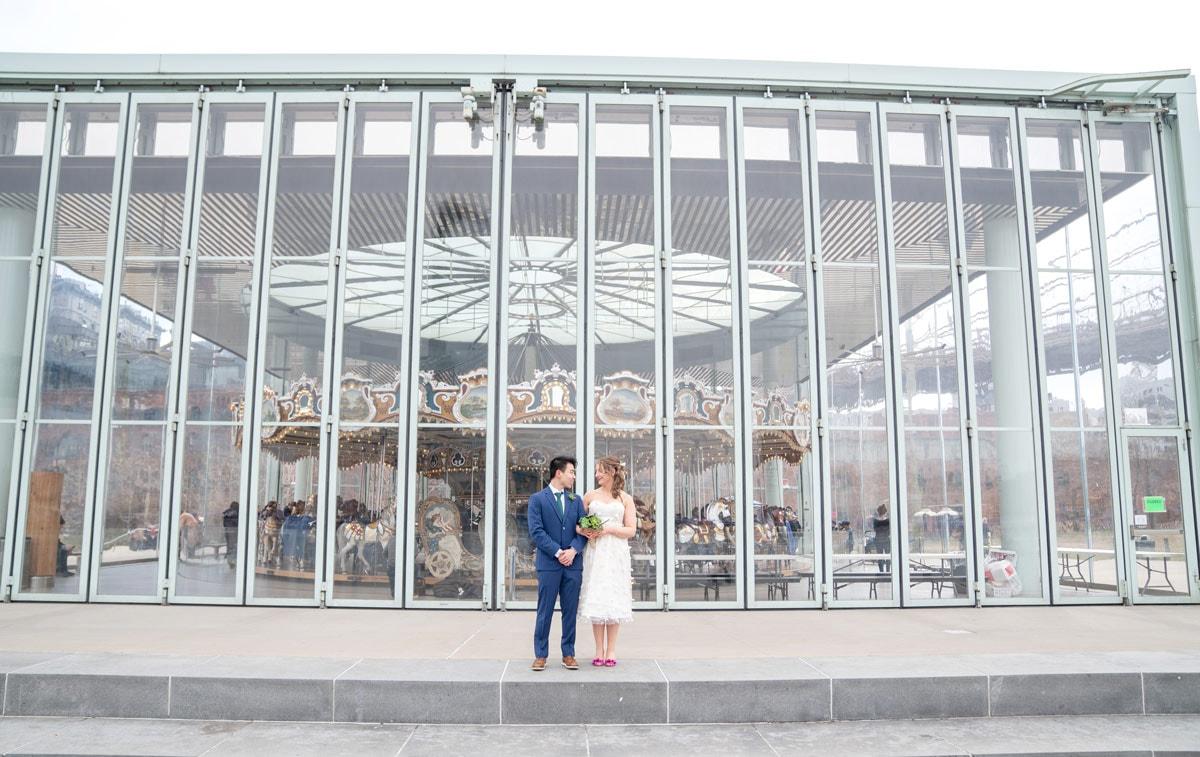 Photo 19 Cathy and Alan Dumbo Brooklyn Wedding in New York City
