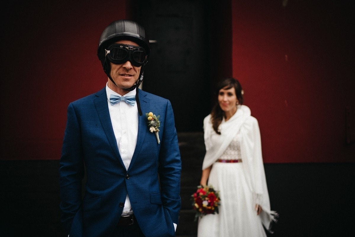 Vespa Hochzeit Heiligenhafen