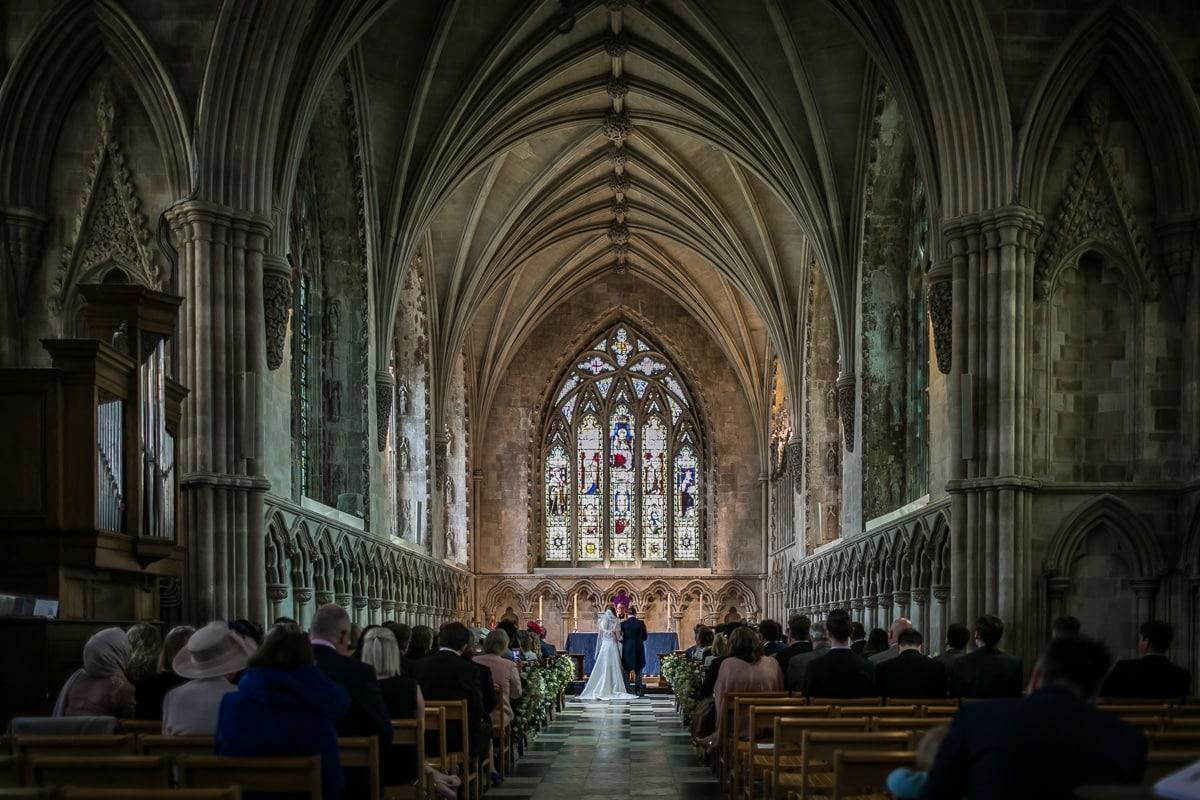 St Albans Abbey Wedding