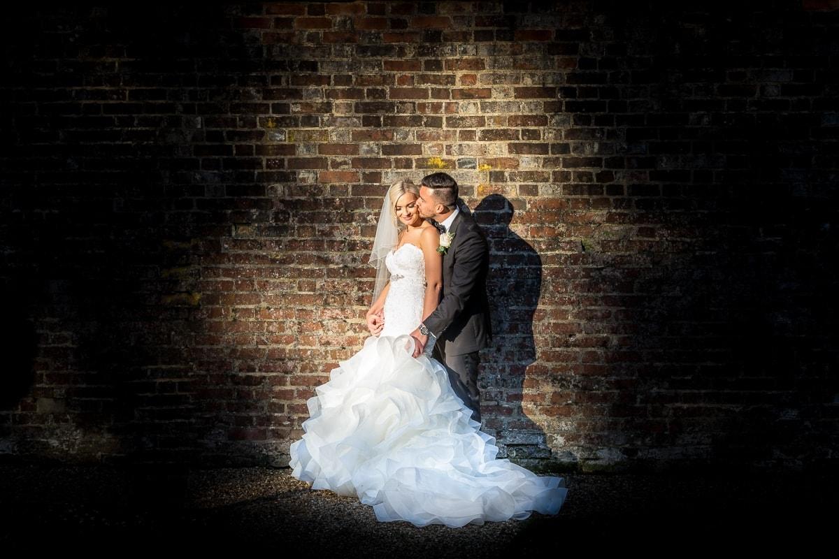 Wotton House - Golden Hour Wedding Portrait