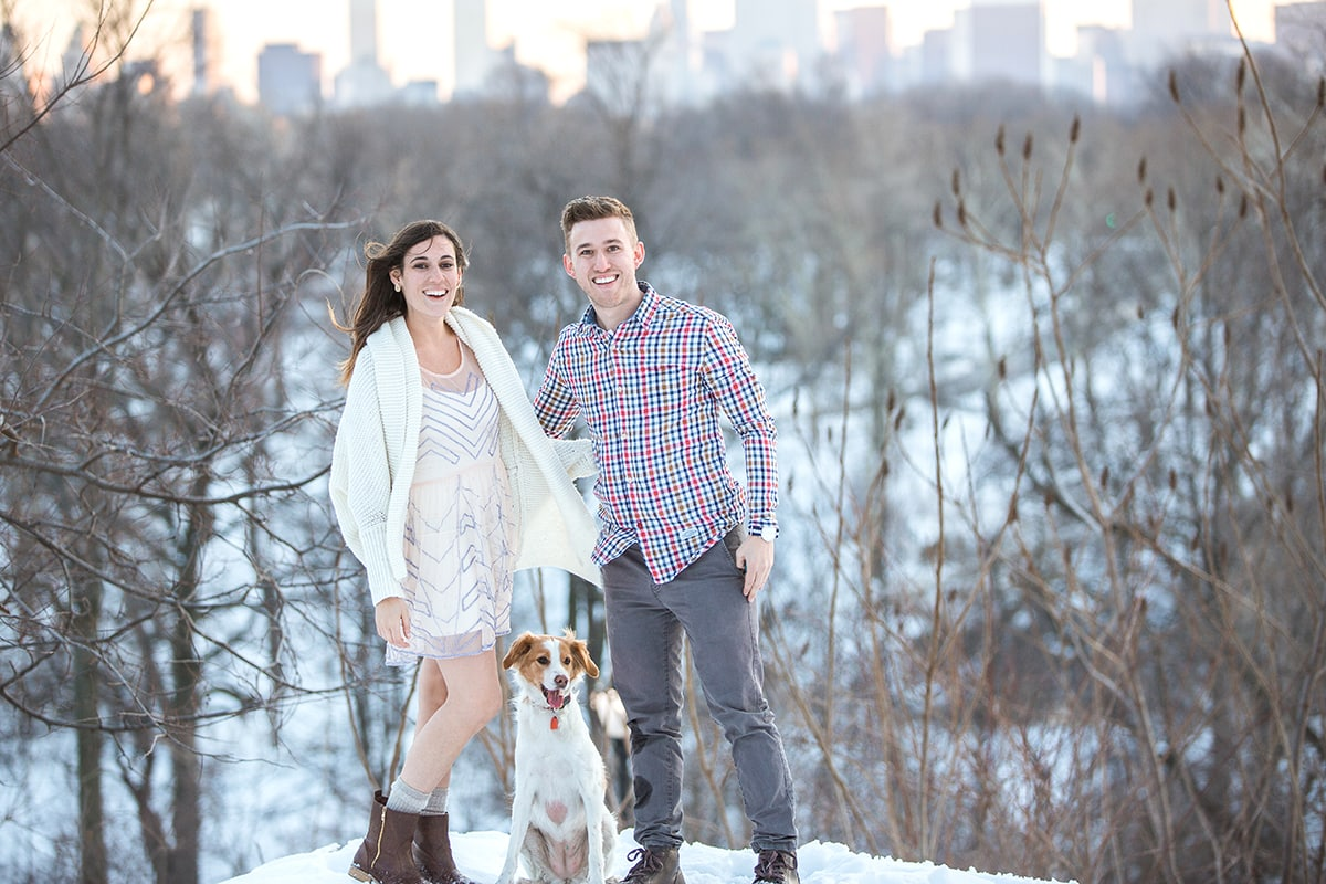 Photo 10 Surprise Proposal in Central Park near West 100th street   VladLeto