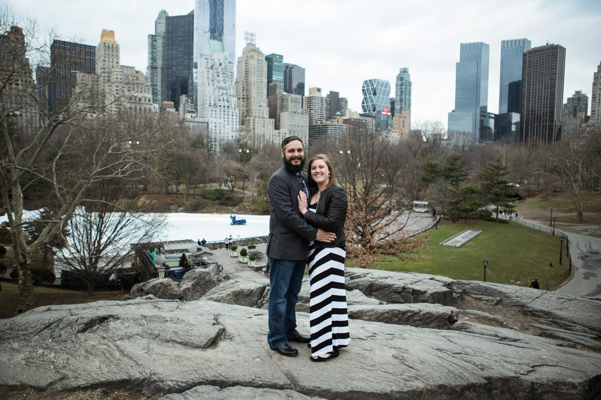 Photo 5 Surprise proposal by Love Sculpture in NYC.   VladLeto