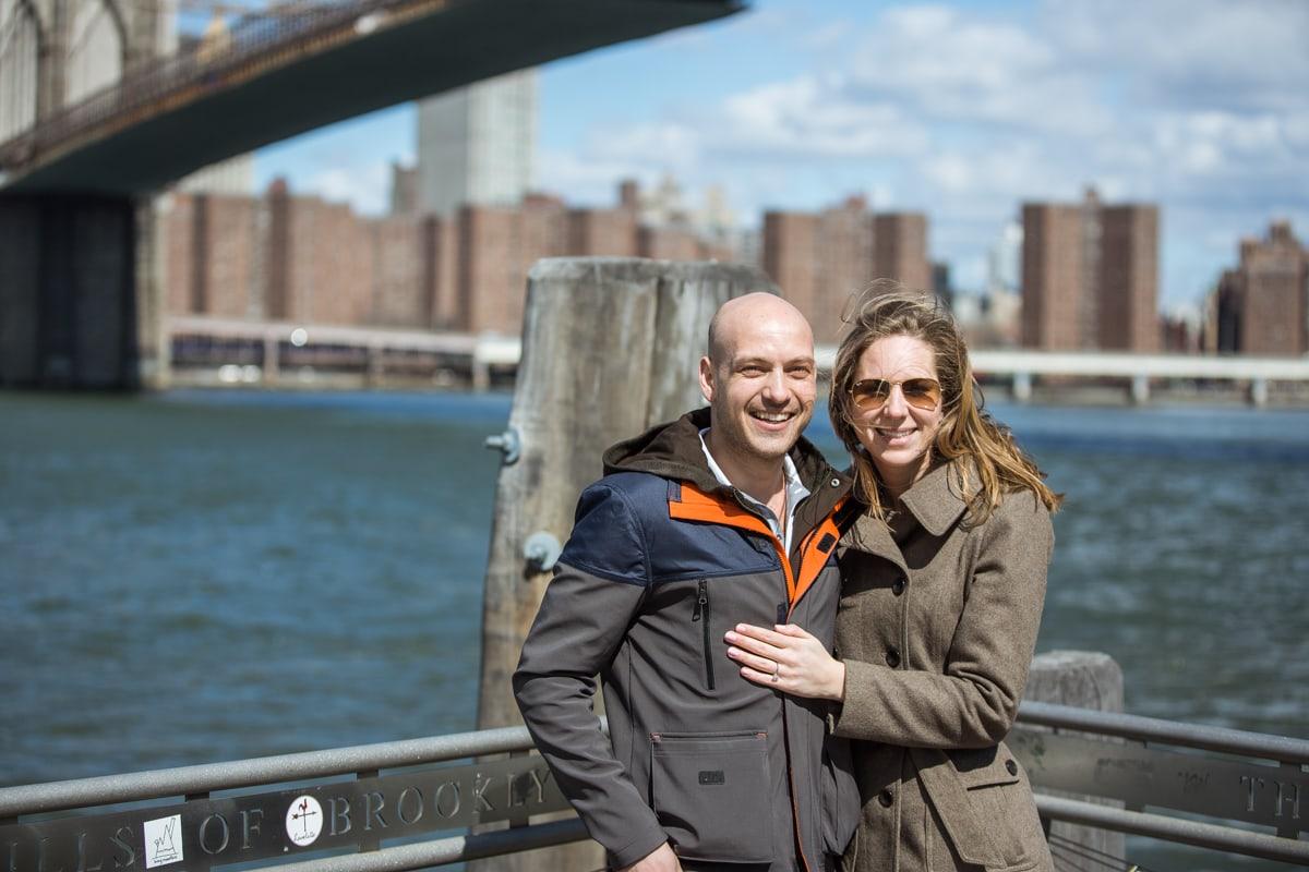 Photo 11 Marriage proposal at Brooklyn Bridge Park   VladLeto