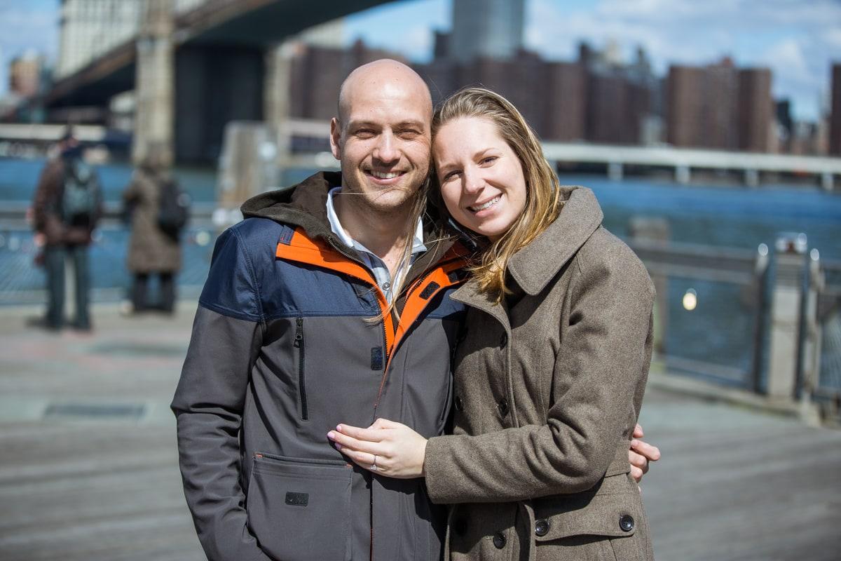 Photo 12 Marriage proposal at Brooklyn Bridge Park   VladLeto