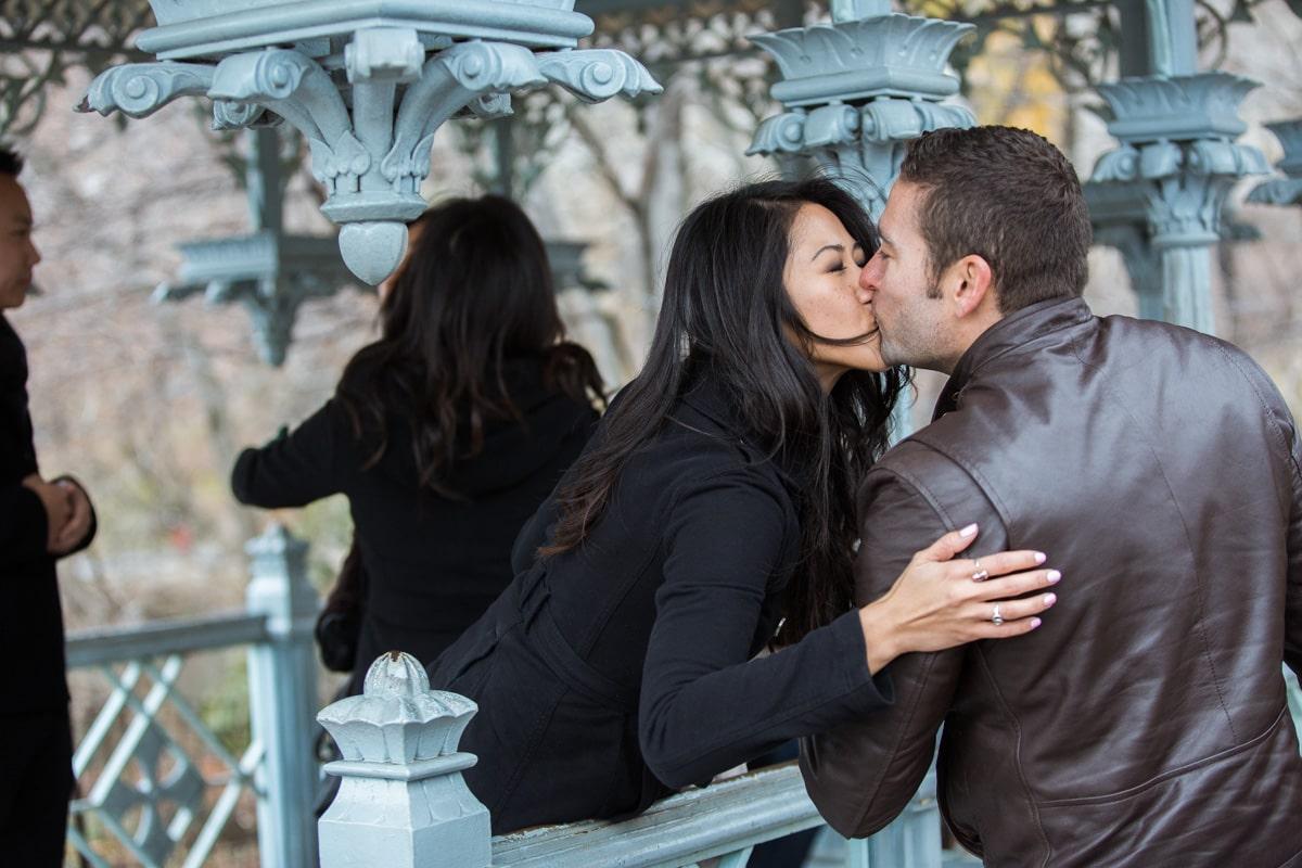 Photo 8 Surprise Proposal at Ladies Pavilion in Central Park | VladLeto