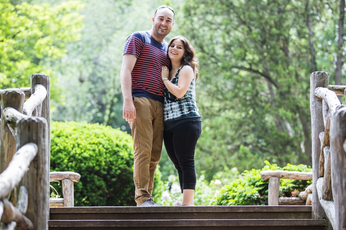 Photo 4 Marriage Proposal at Shakespeare Garden in Central park | VladLeto