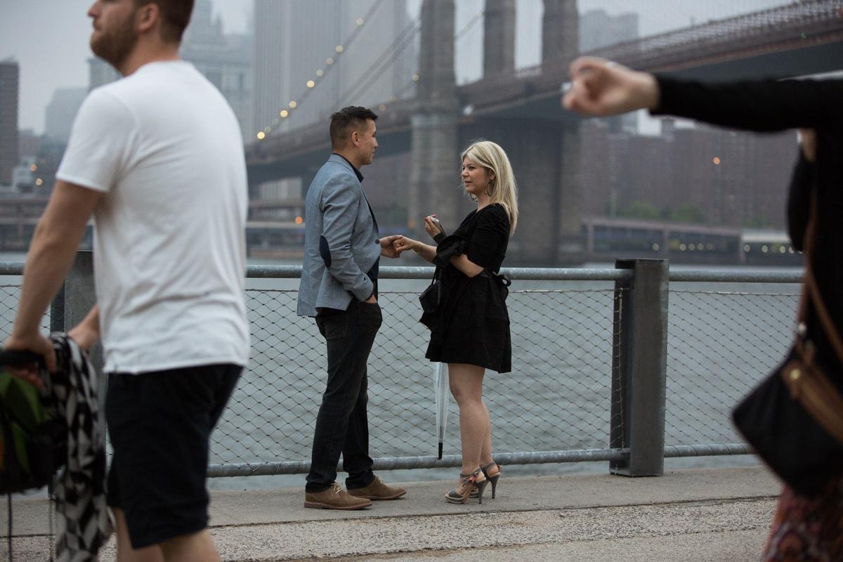 Photo 2 marriage proposal by Brookyn Bridge   VladLeto