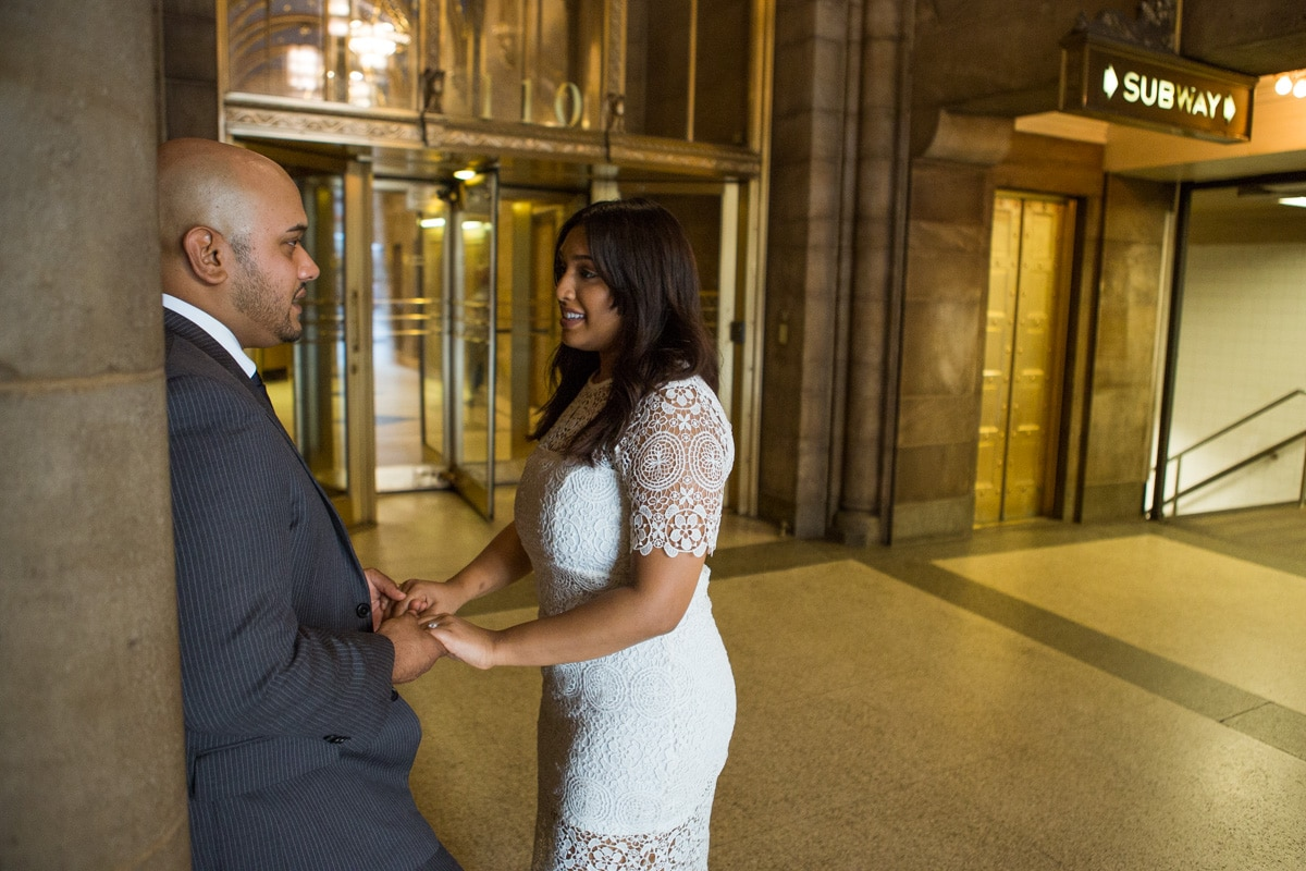 Photo 7 Wedding proposal at Cipriani Grand Central   VladLeto