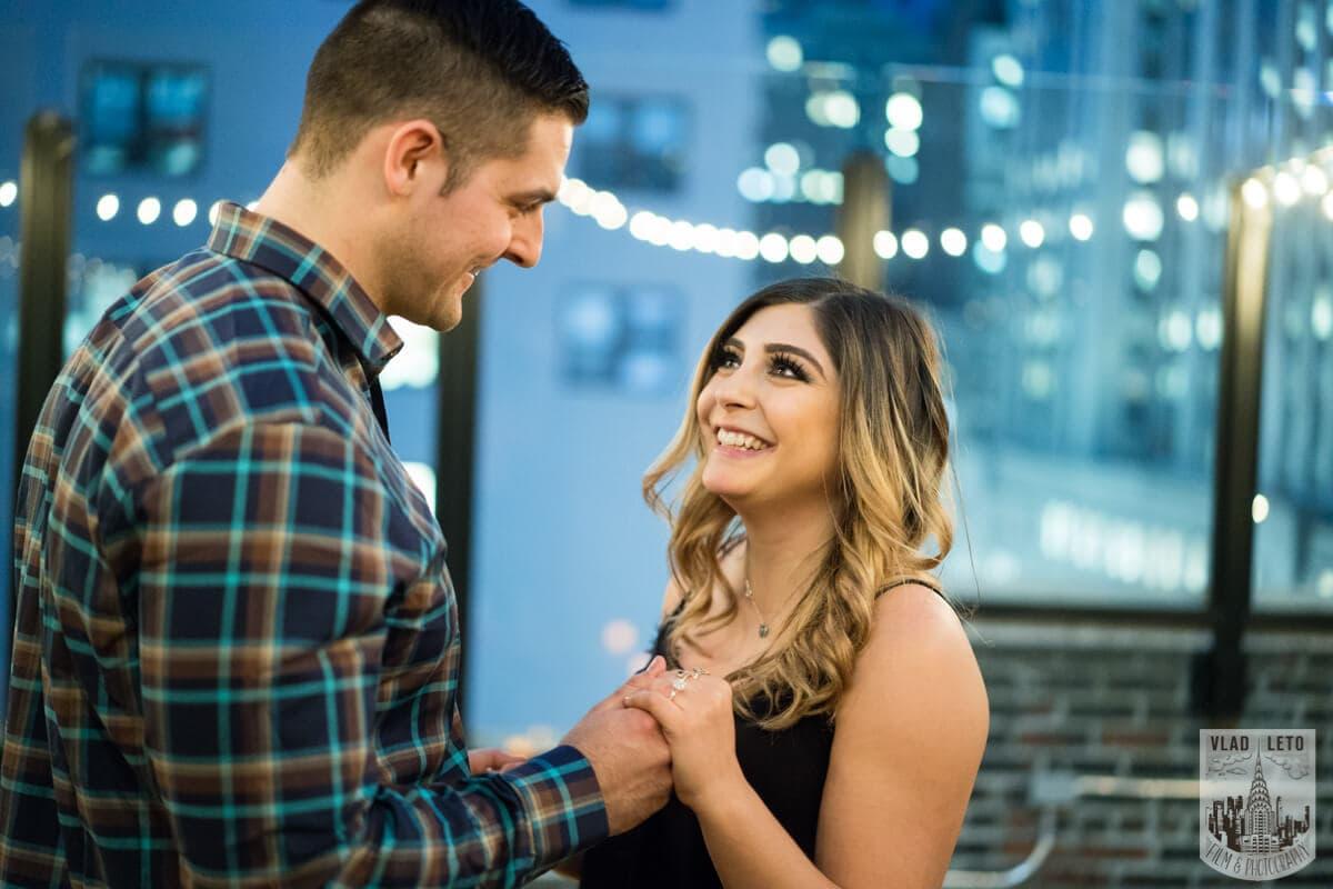 Photo 14 Empire state building view Surprise Marriage Proposal | VladLeto