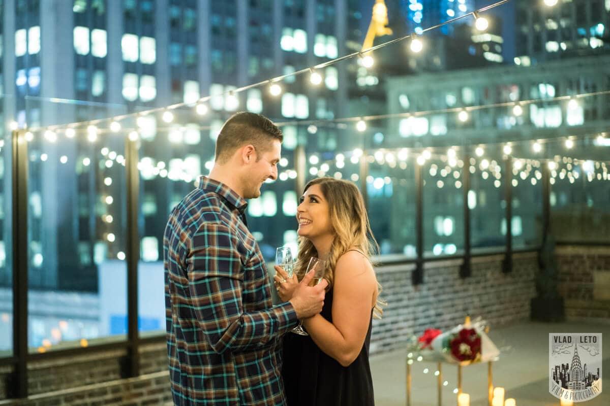 Photo 3 Empire state building view Surprise Marriage Proposal | VladLeto