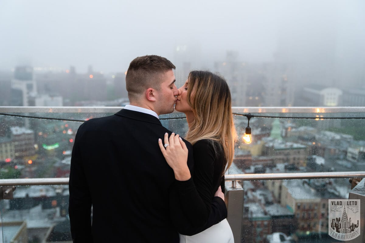 Photo 8 Surprise Proposal on a rooftop in Downtown Manhattan. | VladLeto