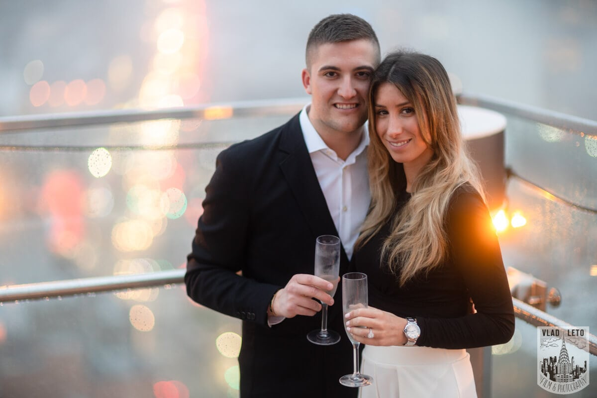 Photo 11 Surprise Proposal on a rooftop in Downtown Manhattan. | VladLeto