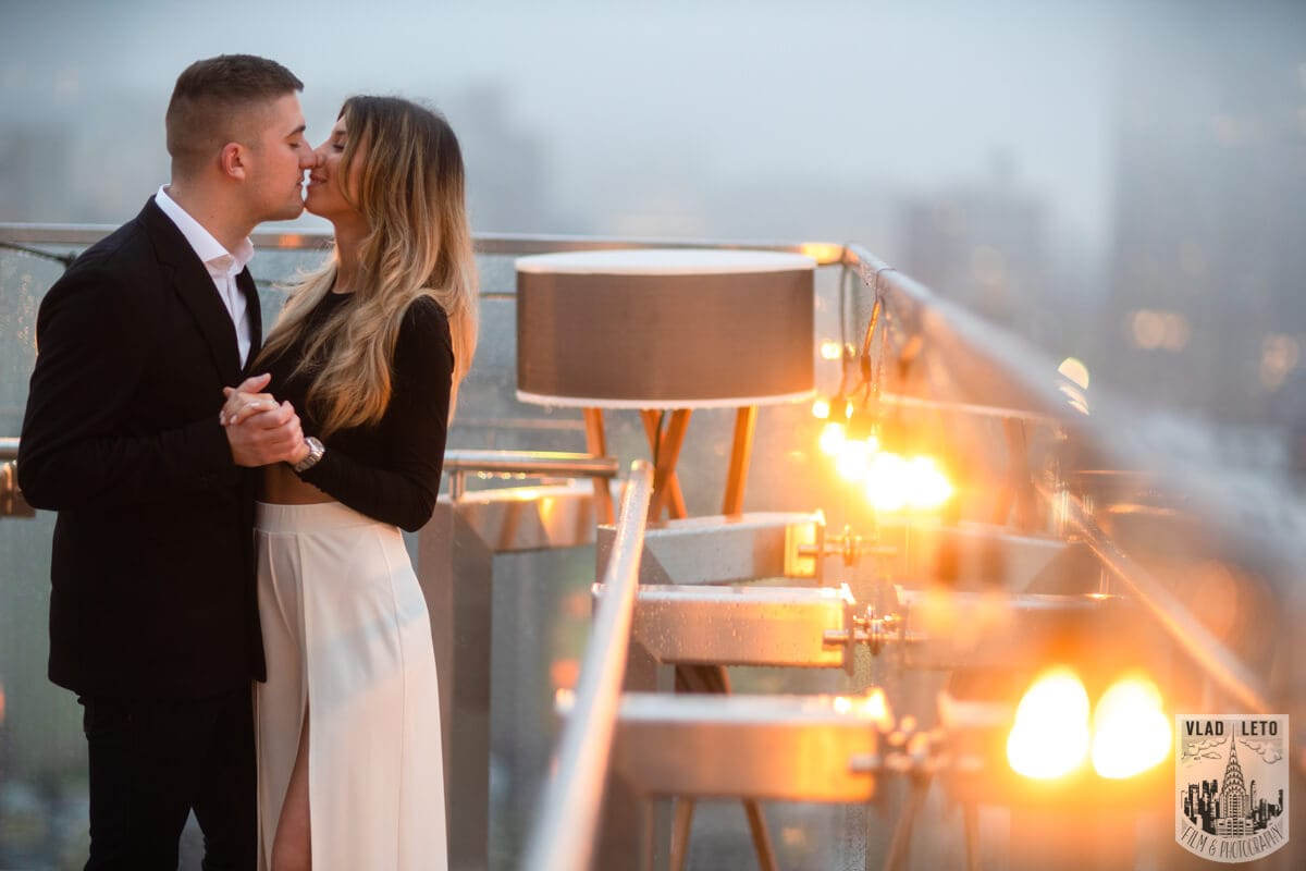 Photo 15 Surprise Proposal on a rooftop in Downtown Manhattan. | VladLeto