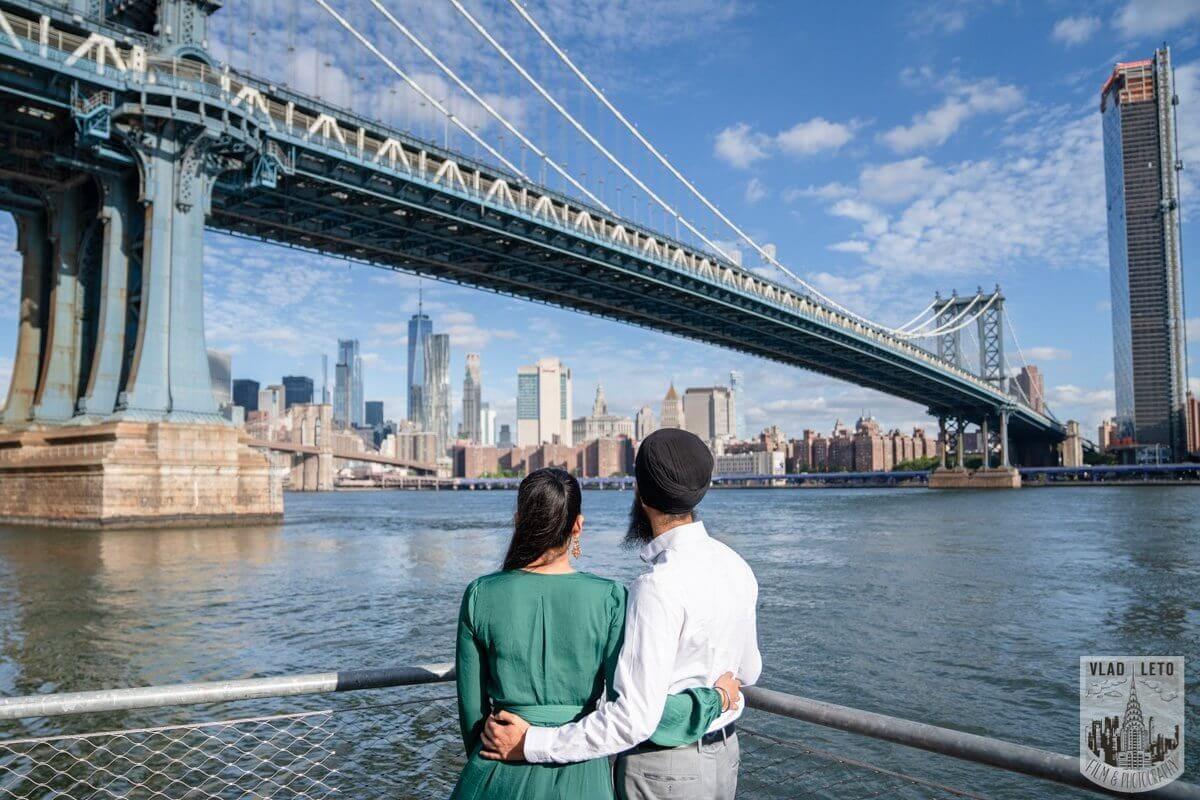 Photo 7 BEST Proposal Reaction! Brooklyn bridge park.   VladLeto