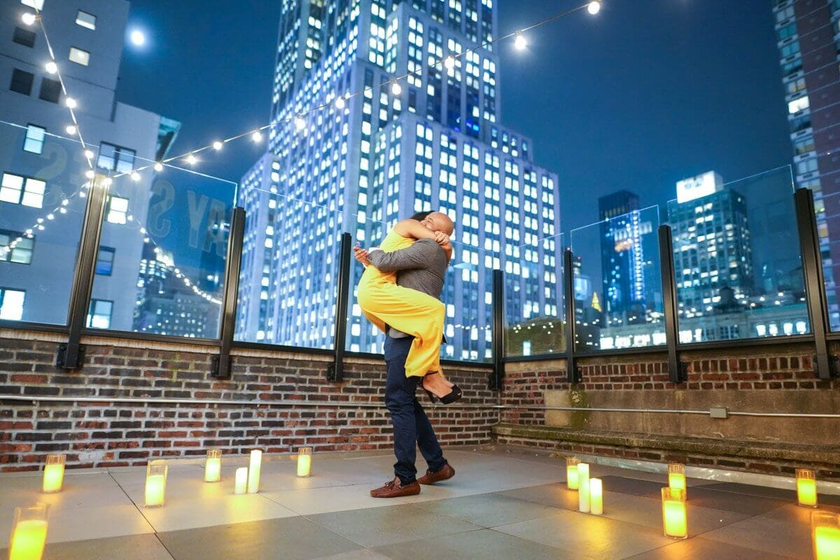 Photo 2 Rooftop proposal in NYC   VladLeto