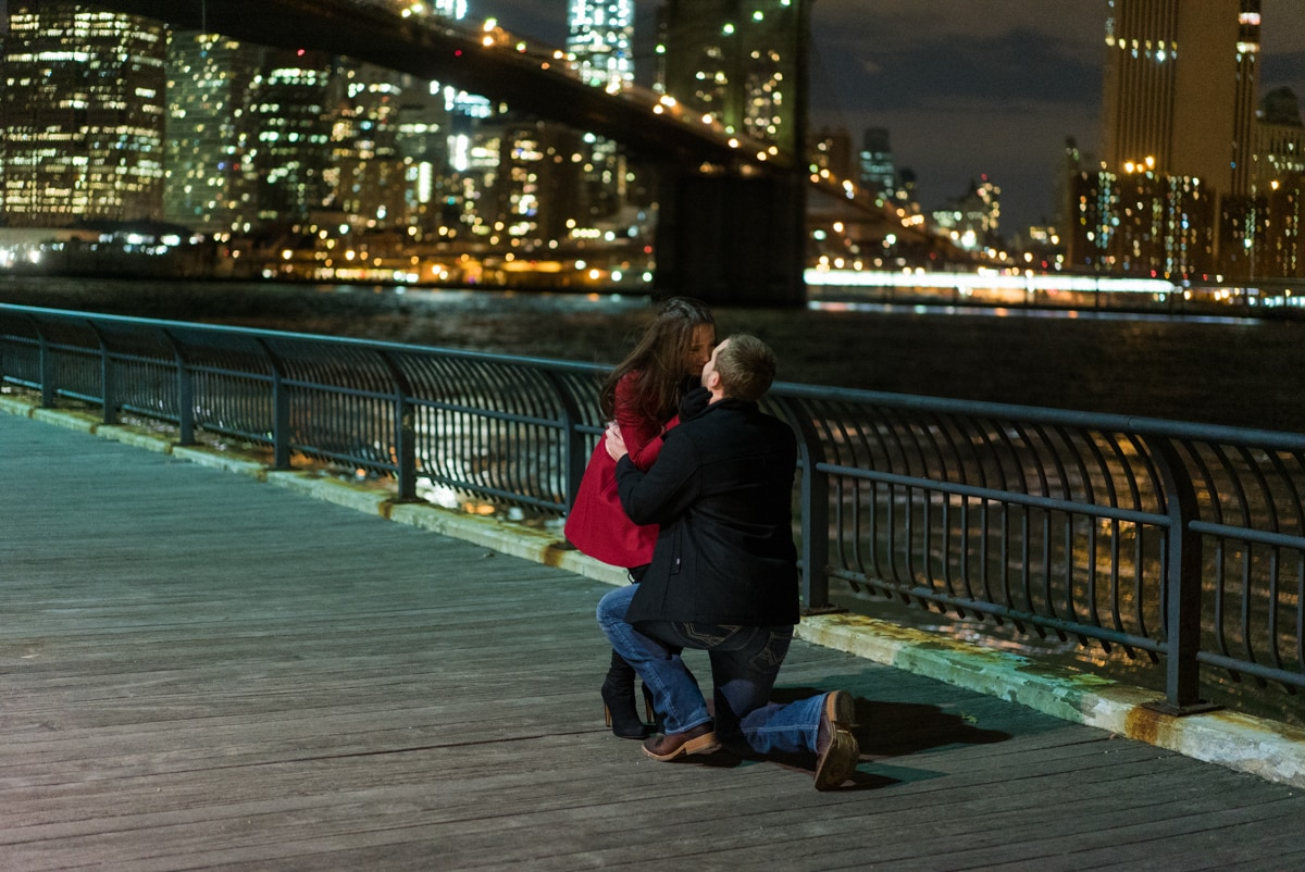 Photo 3 Brooklyn Bridge park marriage proposal.   VladLeto