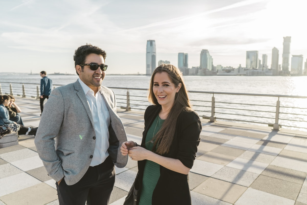 Photo 3 Marriage proposal at Pier 25, Hudson River Park, NYC. | VladLeto