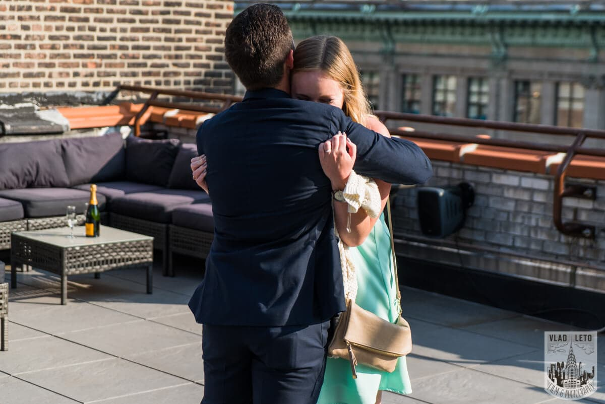 Photo 6 Empire State building view Marriage proposal.   VladLeto