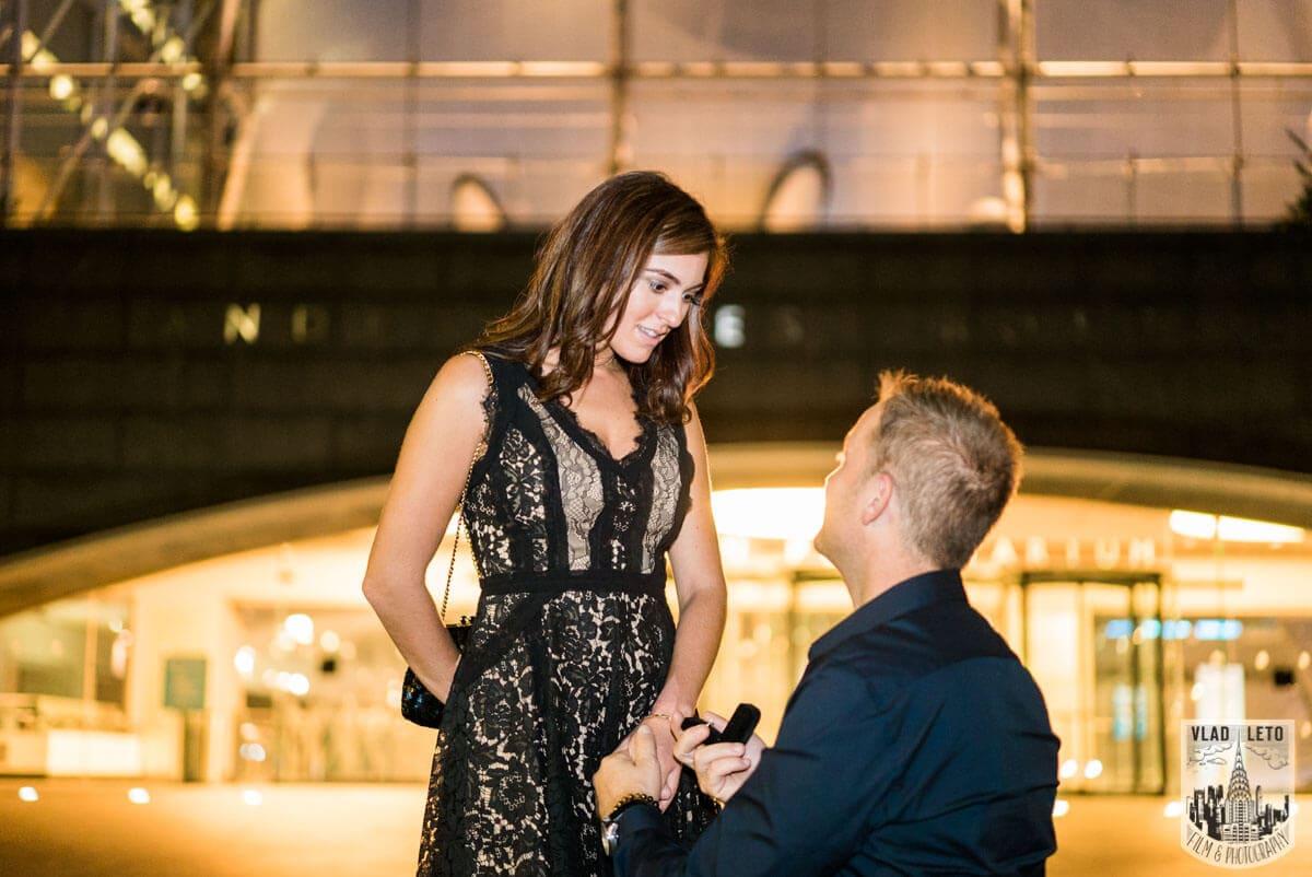 Photo 8 Marriage proposal by Planetarium NYC | VladLeto