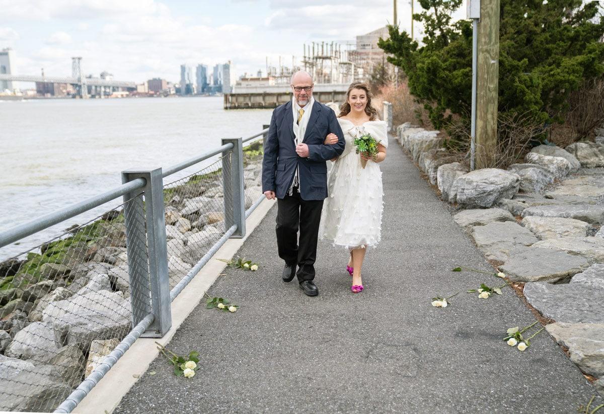 Photo 5 Cathy and Alan Dumbo Brooklyn Wedding in New York City
