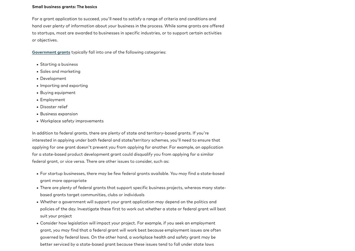 Understanding Grants Page 2