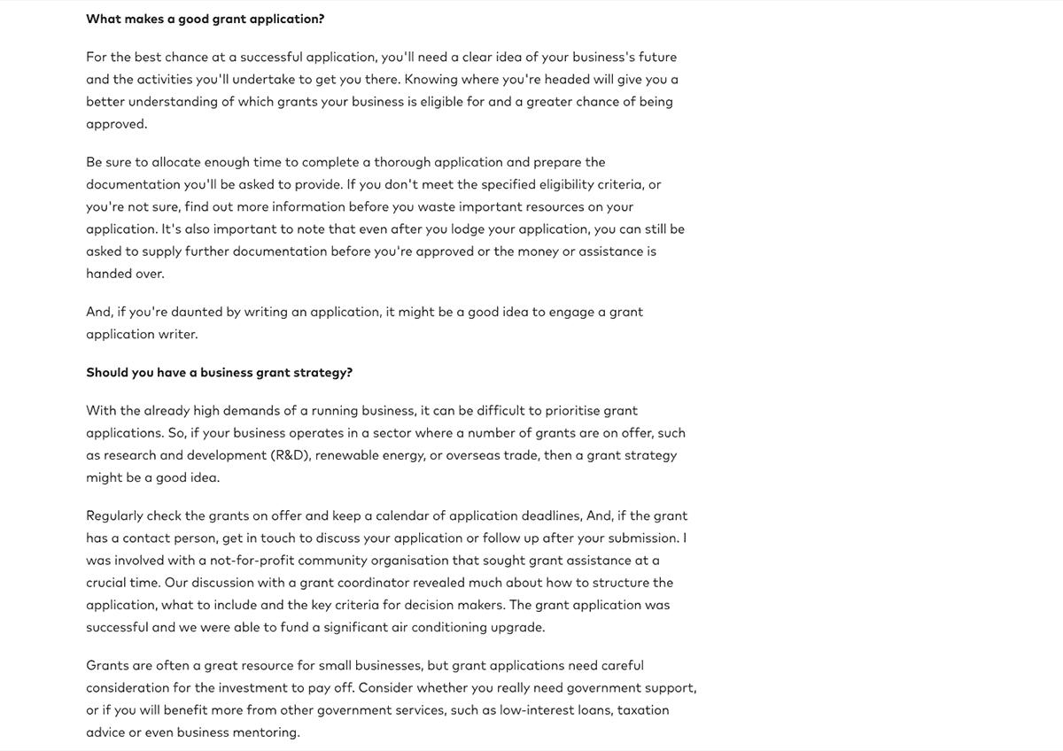 Understanding Grants Page 3