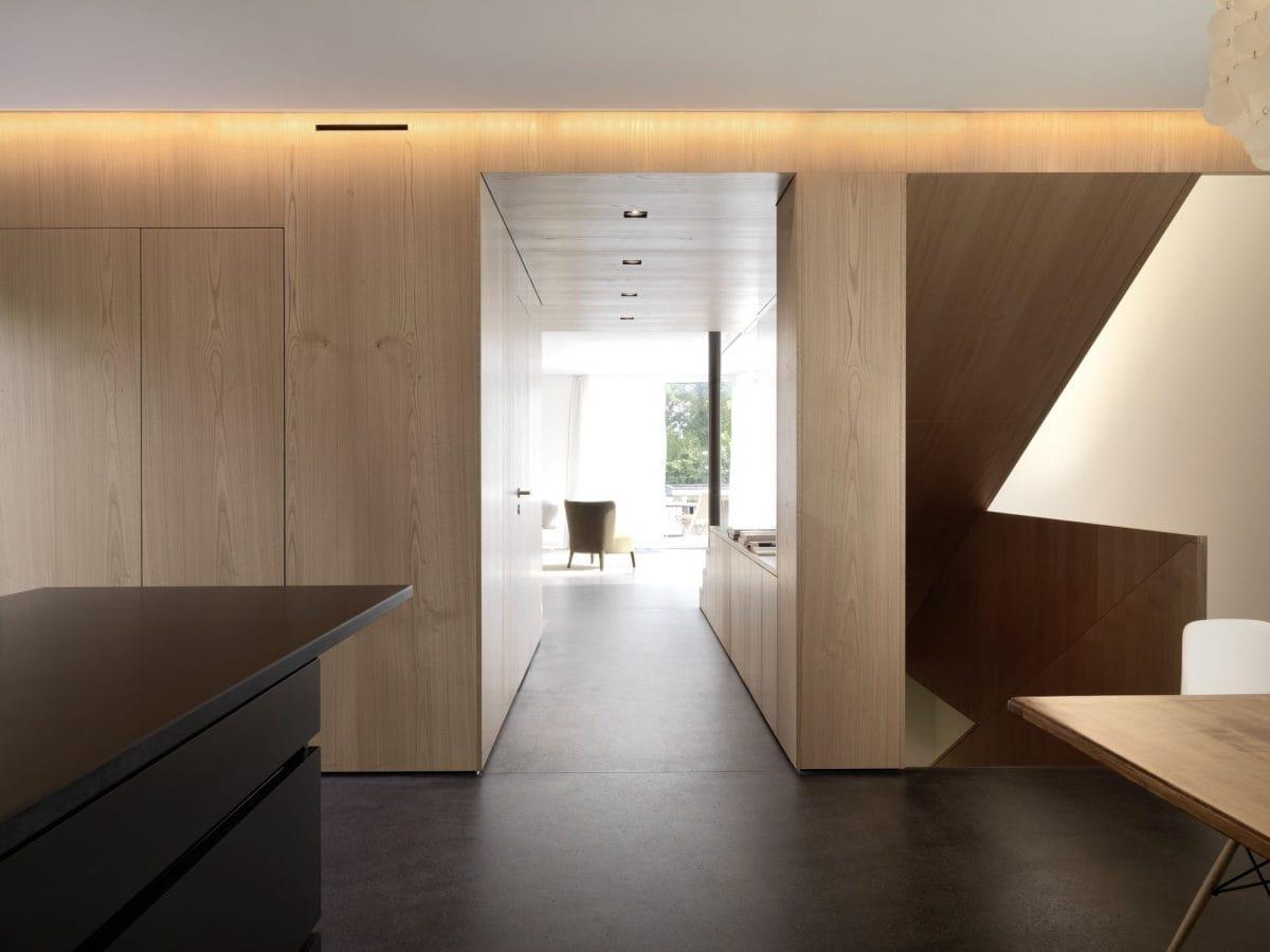 Flur Haus S Dietilkon - Foto von Bruno Helbling, Zürich
