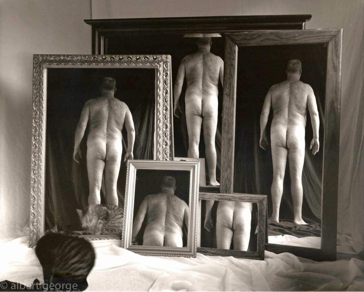 Albert George - 5 Mirrors, 2 Buttocks and 1 Cat