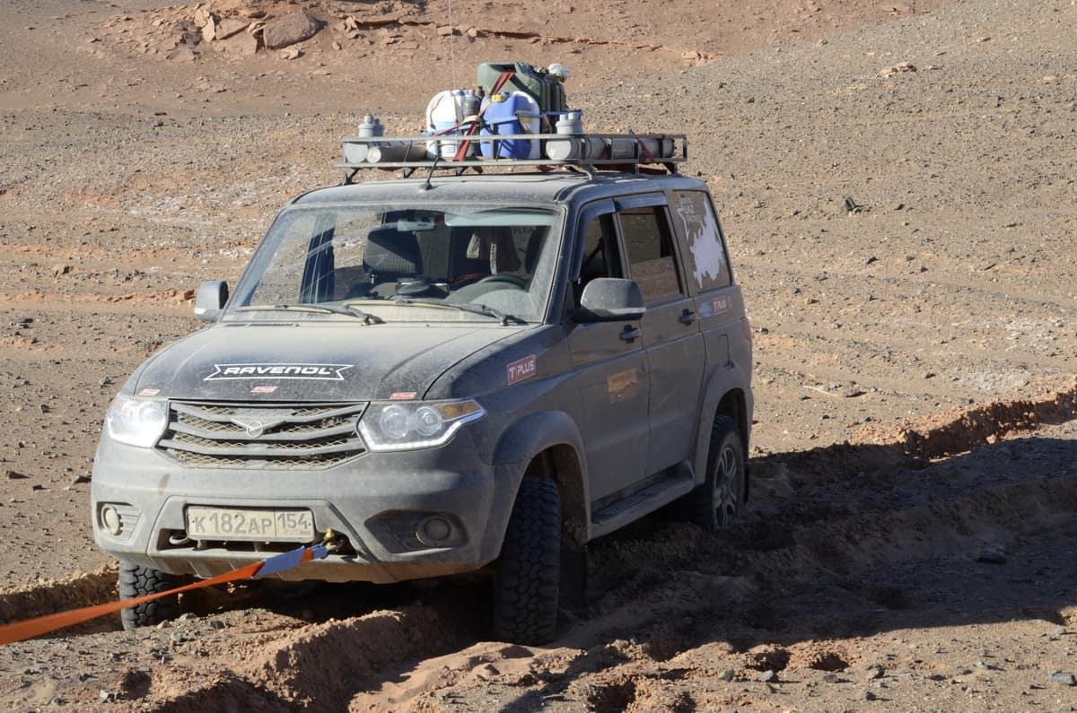 уаз патриот в монголии каньон хэрмэн цав