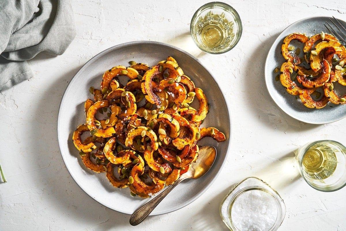 Spicy Roasted Delicata Squash Recipe