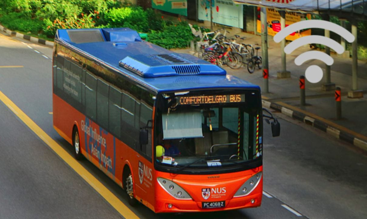 bus with wifi