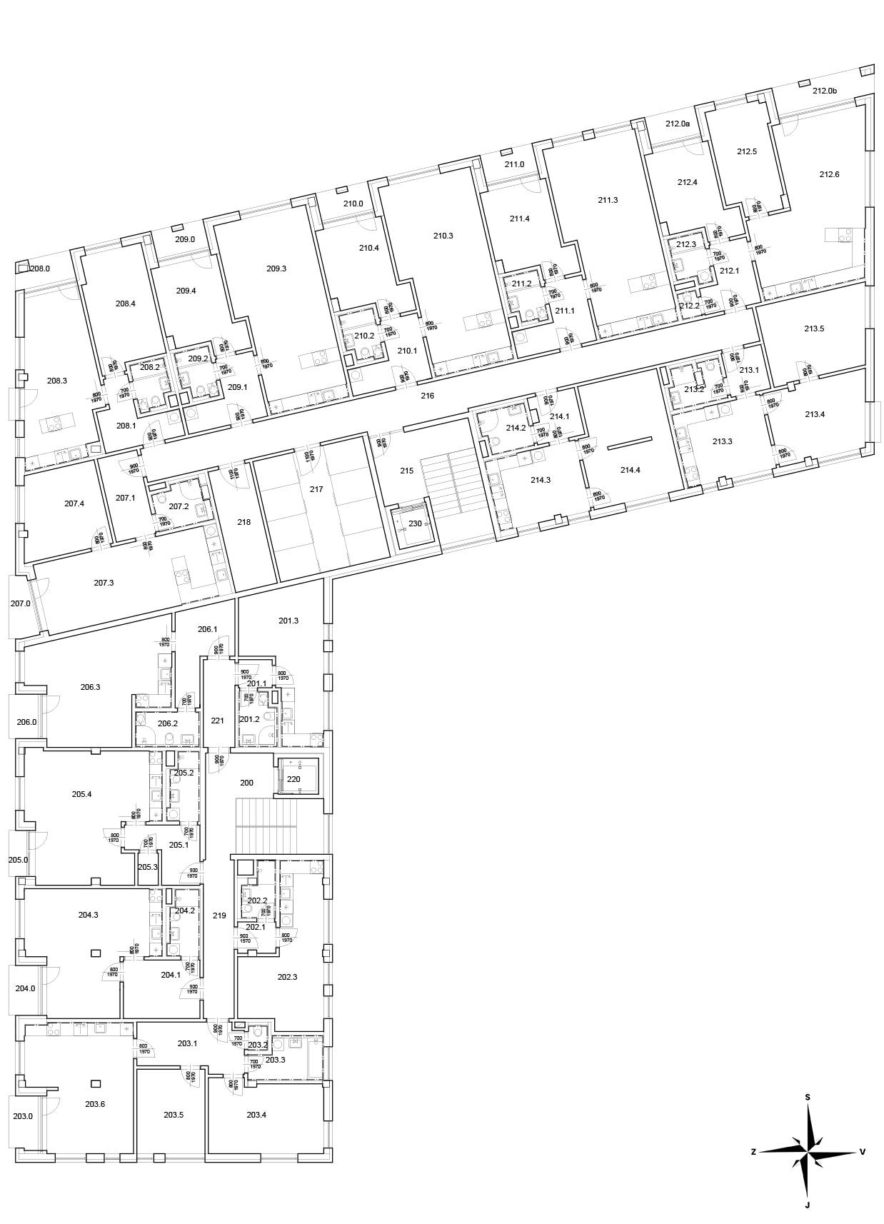 2. Nadzemní patro
