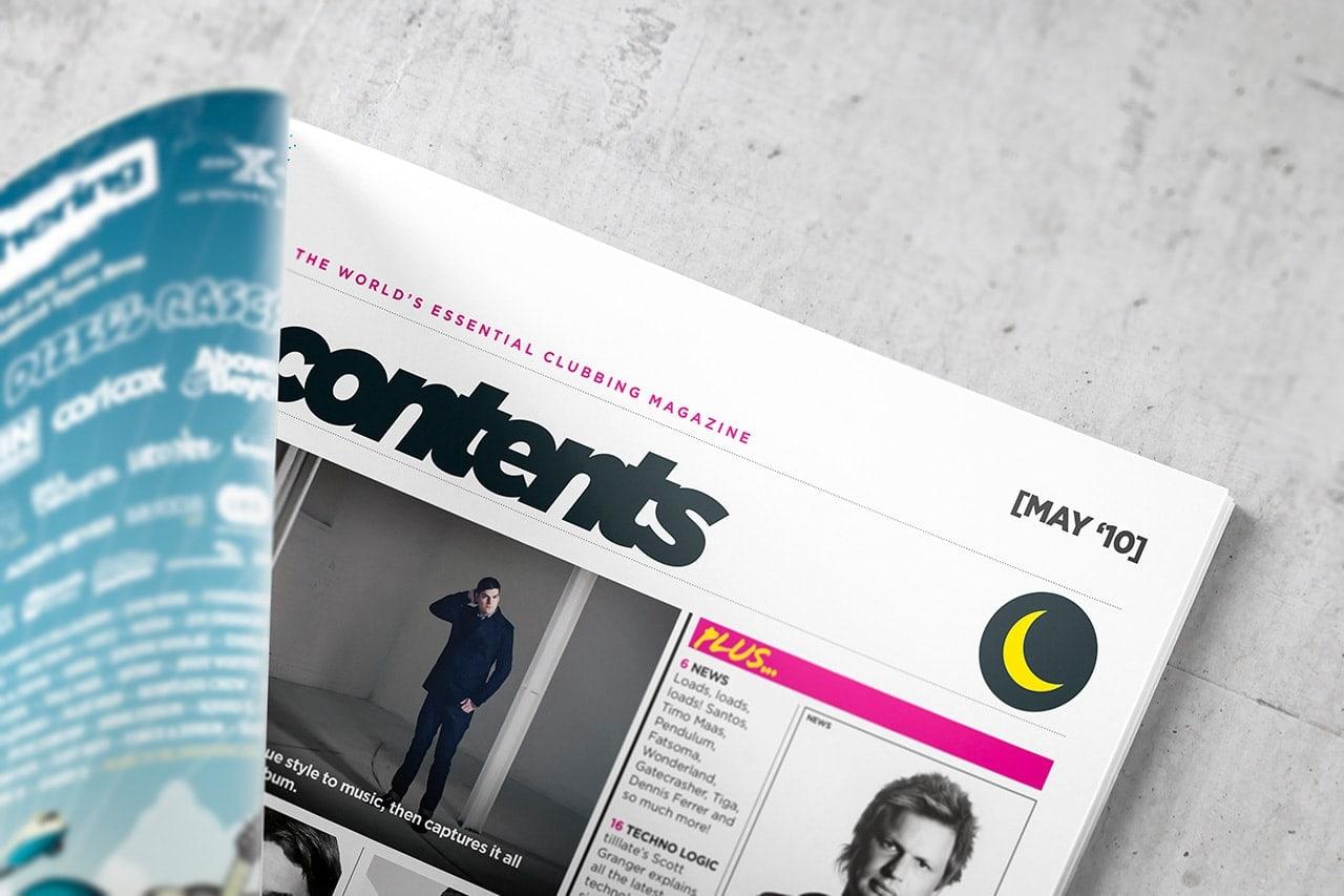 Tilllate.com - Magazine Design