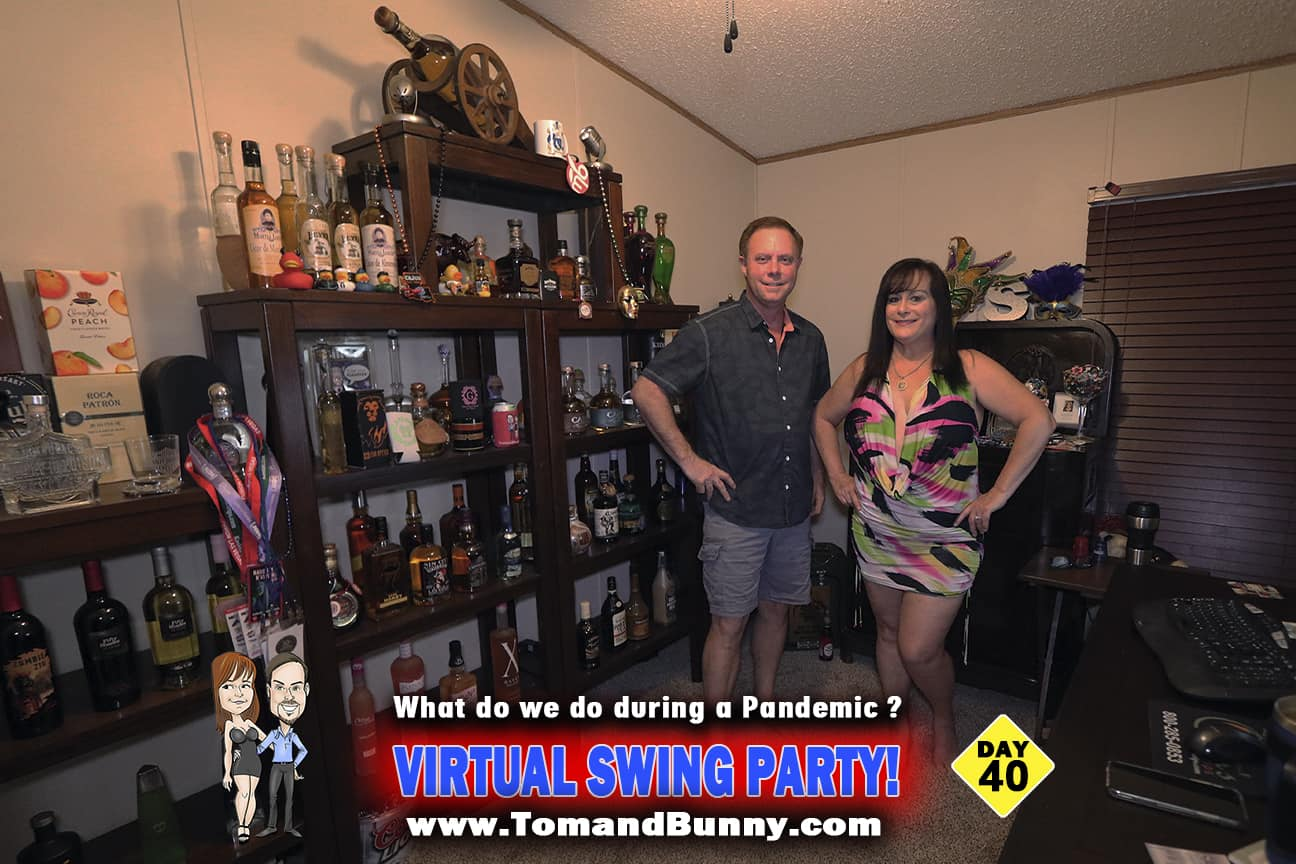Day 40 - What do we do during a Pandemic - Virtual Swing Party
