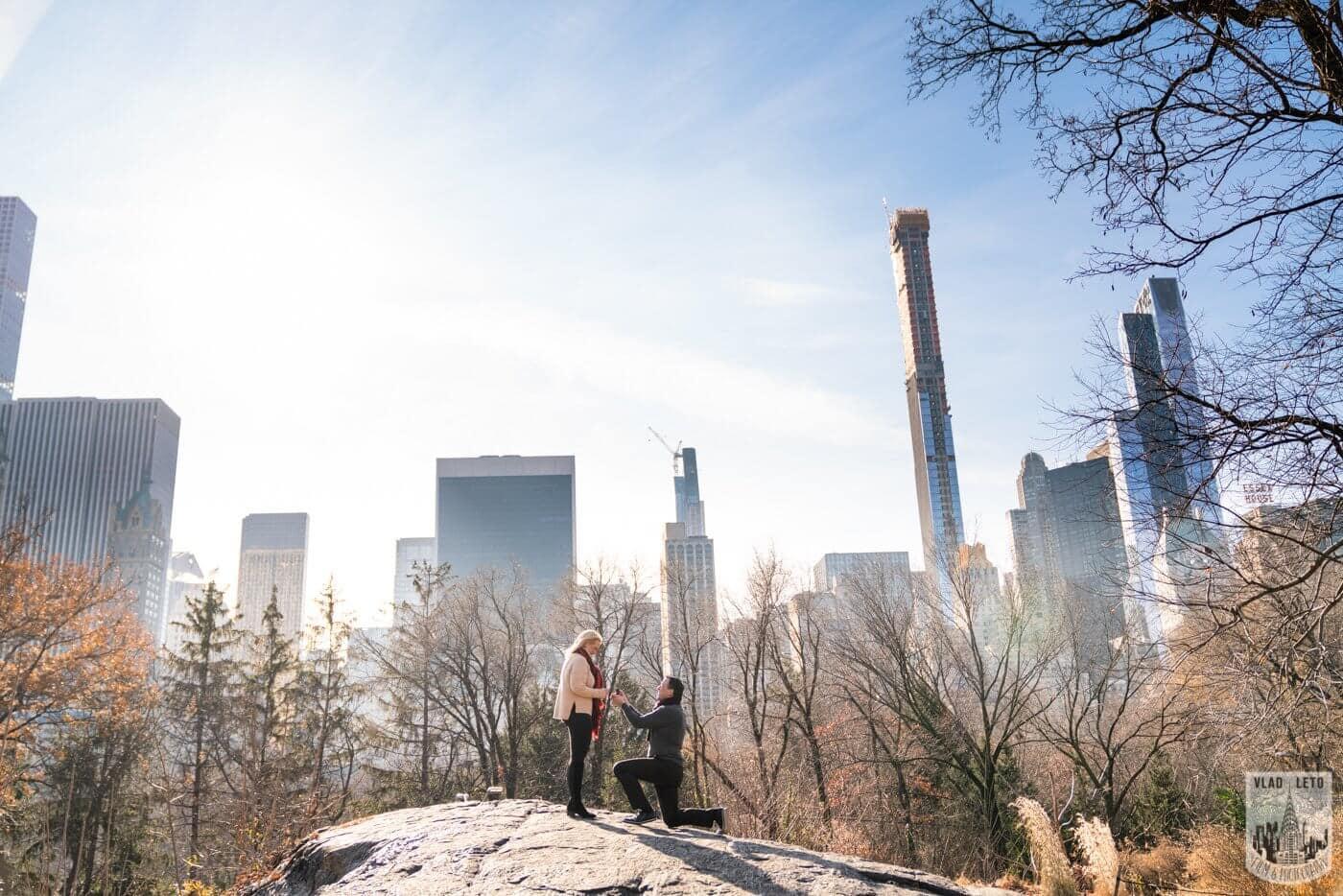 Photo Central Park Wedding proposal   VladLeto