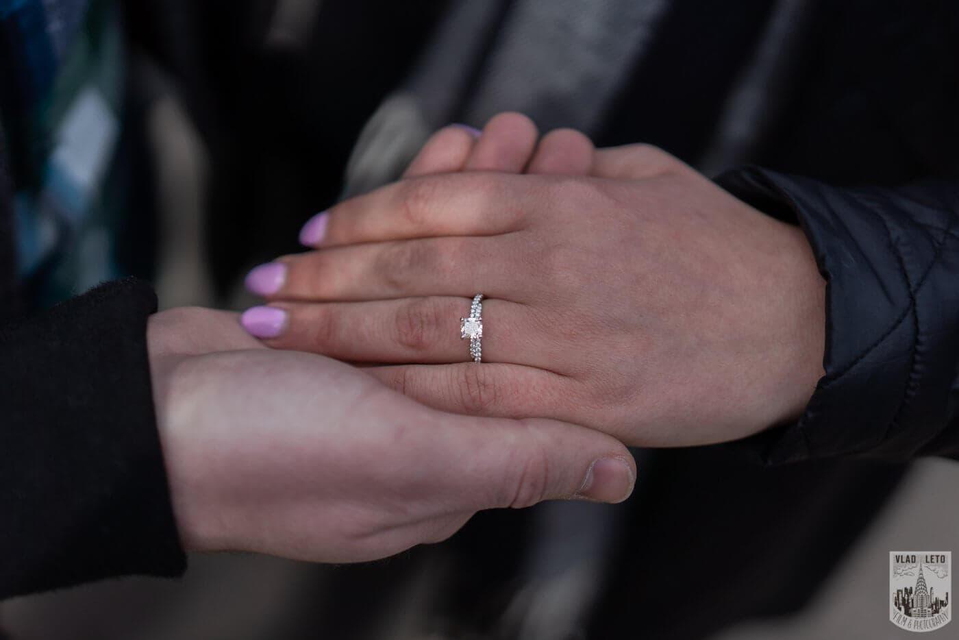 Photo 8 Bow bridge wedding proposal in Central Park   VladLeto